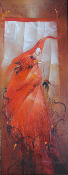 Anne Bachelier - L'Oiseau Cardinal (The Cardinal Bird)