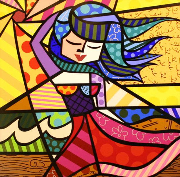 Romero Britto : Summer - Art Brokerage