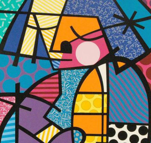 Romero Britto Jennifer