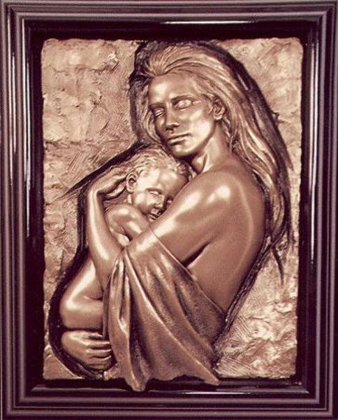 david bonded ceramic large statue ebay