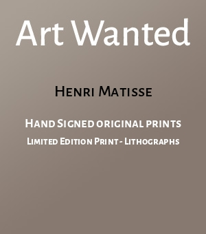 Hand Signed original prints