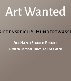 All Hand Signed Prints