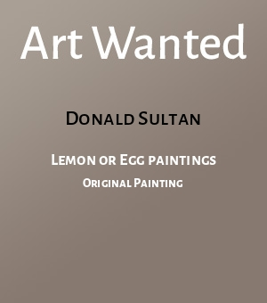 Lemon or Egg paintings